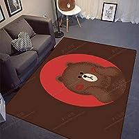 FASTER 絨毯カーペット おしゃれ 長方形 四角 洗える ラグカーペット 応接室 寝室 茶室カーペット オールシーズン 北欧 カーペット リビングマット