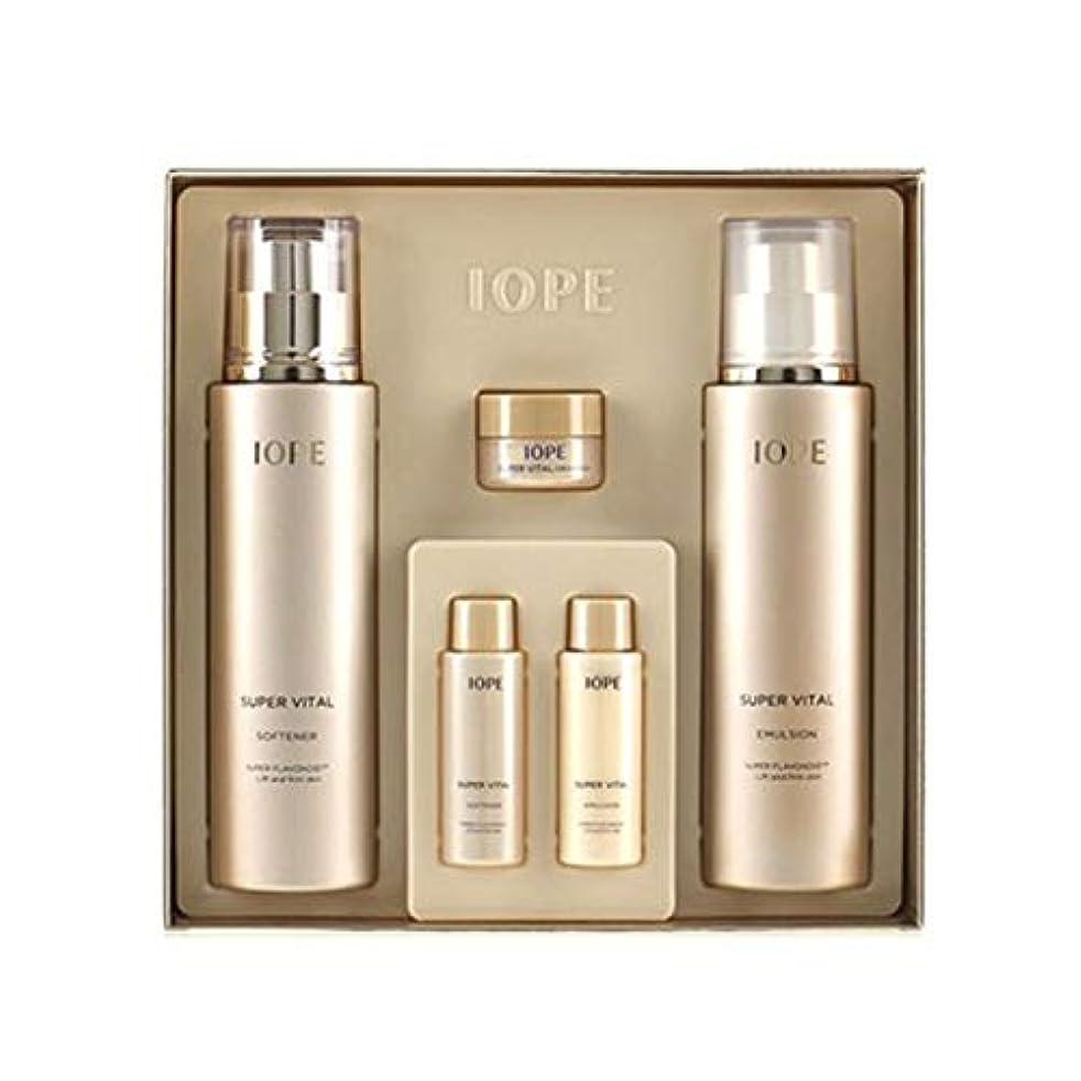 アイオペスーパーバイタル基礎化粧品ソフナーエマルジョンセット韓国コスメ、IOPE Super Vital Softener Emulsion Set Korean Cosmetics [並行輸入品]