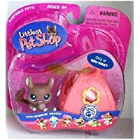 Littlest Pet Shop Chinchilla / Sugar Glider with Carrier & Tag - Exclusive # 314 by Hasbro [並行輸入品]