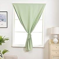 カーテン窓カーテンガーゼベッドルーム陰干し布プリーツブラインド遮光カーテン、リビングルームバルコニー寝室装飾窓 (色 : B, サイズ さいず : 1*W1.3*H2.4M)