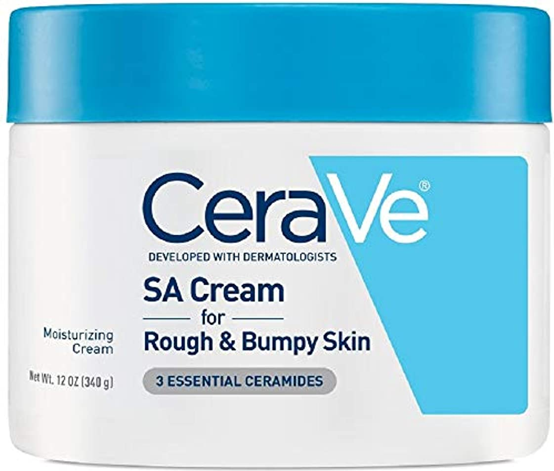 発疹ポーン悪党海外直送品Cerave CeraVe Renewing SA Cream, 12 oz