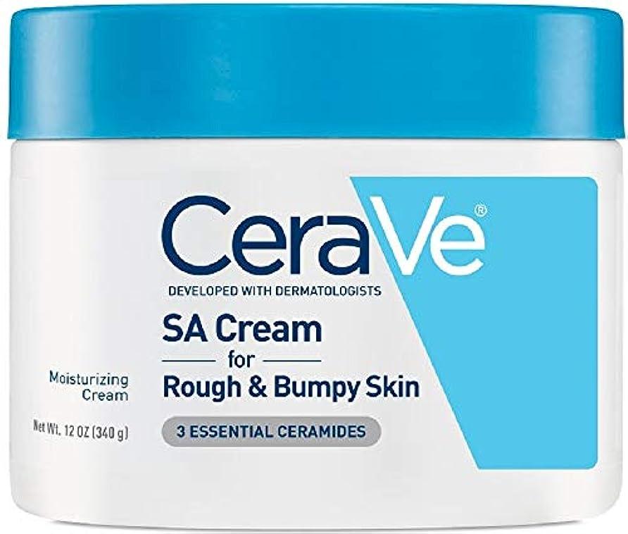 床を掃除する保証多年生海外直送品Cerave CeraVe Renewing SA Cream, 12 oz