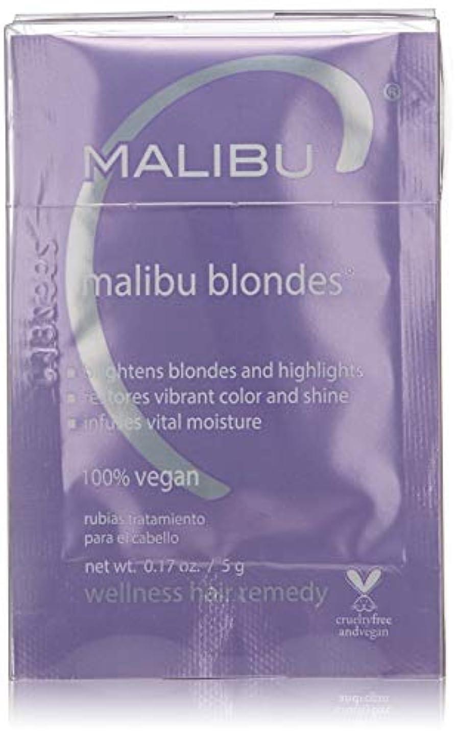 トレーニング床を掃除する栄光Malibu C Malibu Blondes Wellness Hair Remedy 12x5g/0.17oz並行輸入品