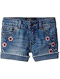ラッキーブランド Lucky Brand Kids キッズ 女の子 ショーツ ハーフパンツ Ryder Wash Bobbi Denim Shorts in Ryd [並行輸入品]