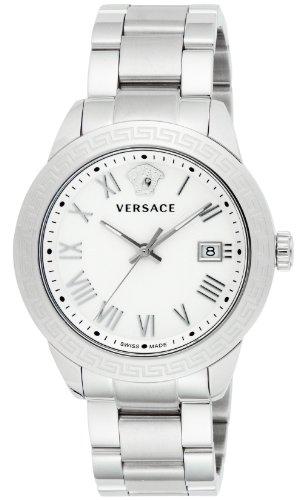 [ヴェルサーチ]VERSACE 腕時計ヴェルサーチペア シルバー文字盤 デイト P6Q99GD002S099 メンズ 【並行輸入品】