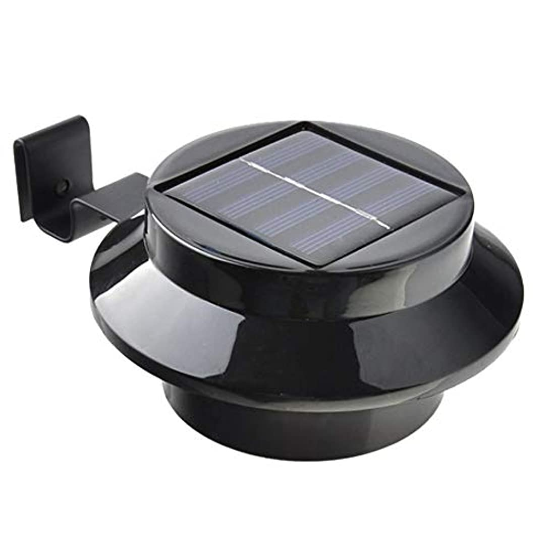 インキュバスペスト裸ソーラーウォールライト屋外、3 LEDソーラーセキュリティライトセンサー、取り付けが簡単、正面玄関、庭、ガレージ、フェンス用