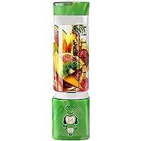 DULPLAY ジュース ミキサー,Usb 充電器タイプ,スムージー メーカー, (22,000 RPM),個人的なミキサー ステンレス鋼 ポータブル Bpa の無料 400 ml のウォーター ボトル - 23.5x7.5cm(9x3inch)