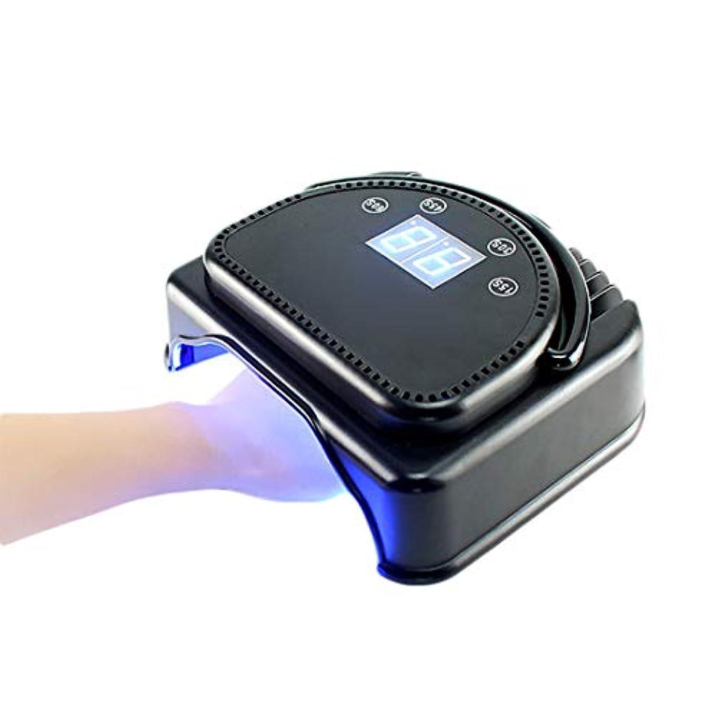シェラックおよびゲルの釘のための64W専門の紫外線およびLEDの釘ランプそして釘のドライヤーの表示