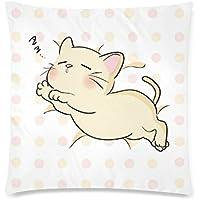 可愛い 子供 子猫の寝顔 座布団 45cm×45cm可愛い 子供 子猫の寝顔 座布団 45cm×45cm