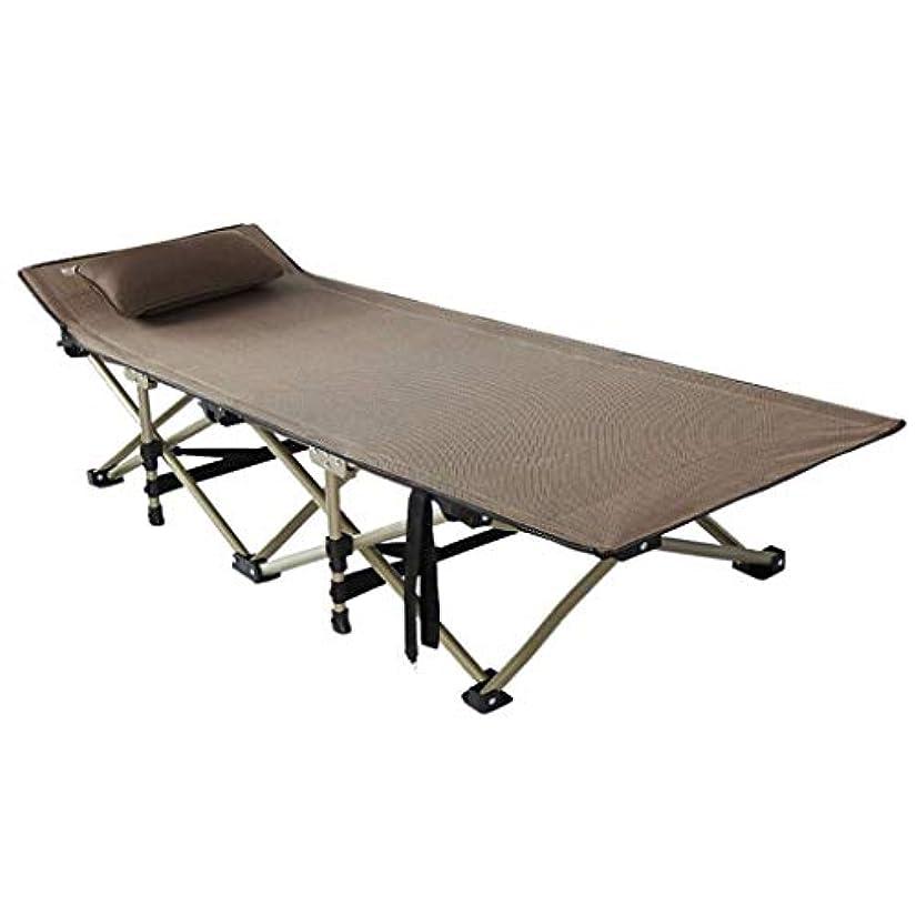 舌なプログラム後退する折りたたみリクライニングサンラウンジャーガーデンキャンプベッドチェア付きベッド調節可能なサンベッドで耐候性オックスフォード布,b