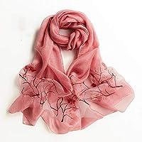 HLJ 人格の秋のスカーフ絶妙な女の子のスカーフ簡単なファッションのスカーフショール (Color : C)