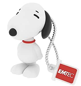 EMTEC snoopy usb flash drive スヌーピー 8GB USB2.0 フラッシュドライブ [並行輸入品]