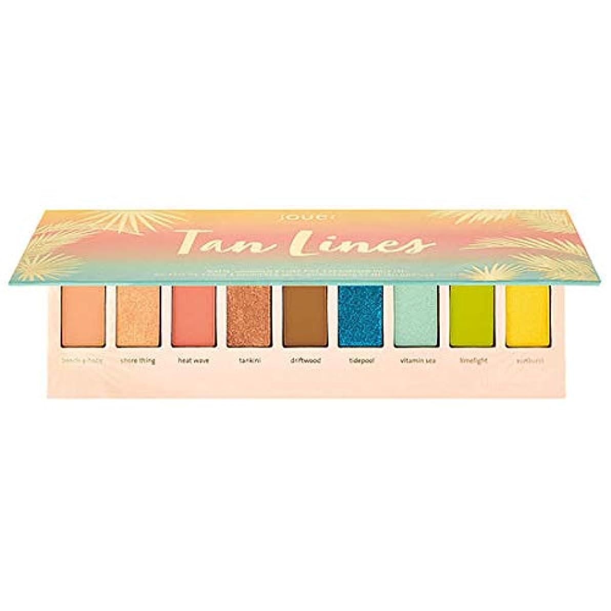 くつろぎ不均一賢明なJouer Cosmetics Tan Lines Matte, Shimmer & Luxe Foil Eyeshadow Palette