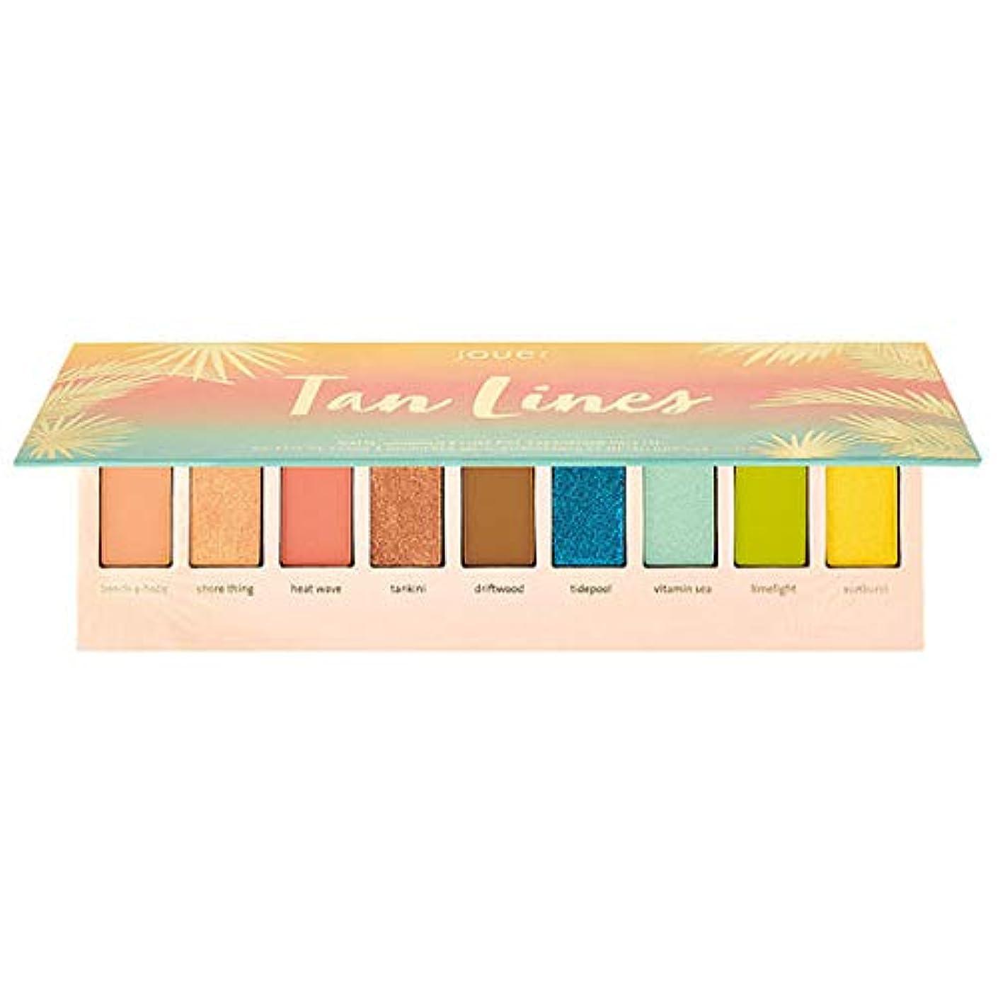 とげのある四半期宣伝Jouer Cosmetics Tan Lines Matte, Shimmer & Luxe Foil Eyeshadow Palette