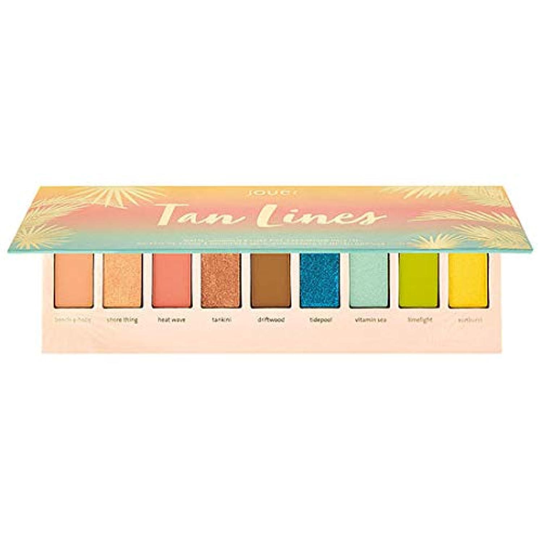 性交サルベージ付けるJouer Cosmetics Tan Lines Matte, Shimmer & Luxe Foil Eyeshadow Palette