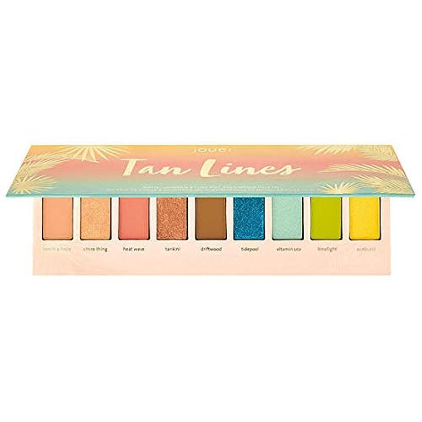 後継年次デコードするJouer Cosmetics Tan Lines Matte, Shimmer & Luxe Foil Eyeshadow Palette