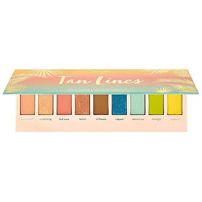 ベルベット累積に負けるJouer Cosmetics Tan Lines Matte, Shimmer & Luxe Foil Eyeshadow Palette