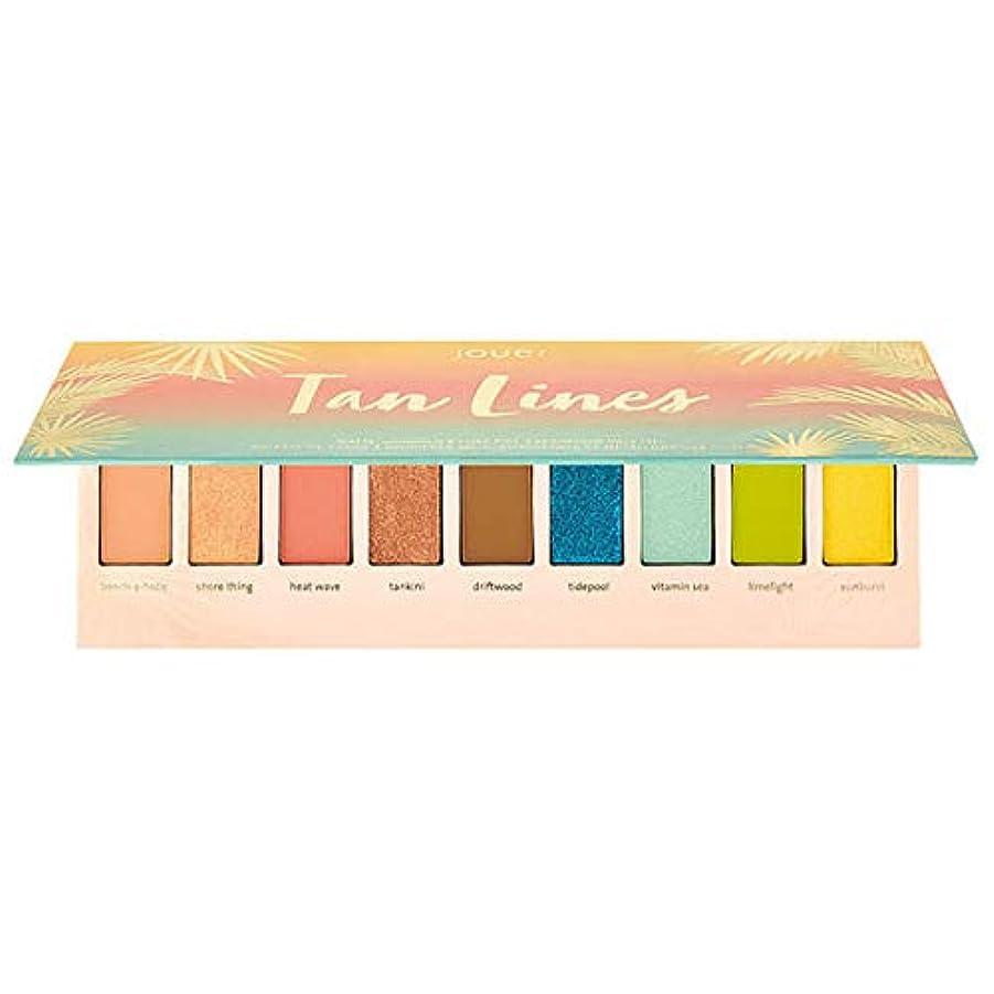 Jouer Cosmetics Tan Lines Matte, Shimmer & Luxe Foil Eyeshadow Palette