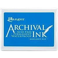 Archival Jumbo Ink Pad #3-Manganese Blue (並行輸入品)