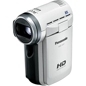 Panasonic フルハイビジョンビデオカメラ SD7 シルバー HDC-SD7-W (SDカード)