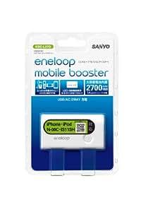 SANYO USB出力付きリチウムイオンバッテリー (高容量リチウムイオン3.7V2700mAh電池使用) KBC-L27D