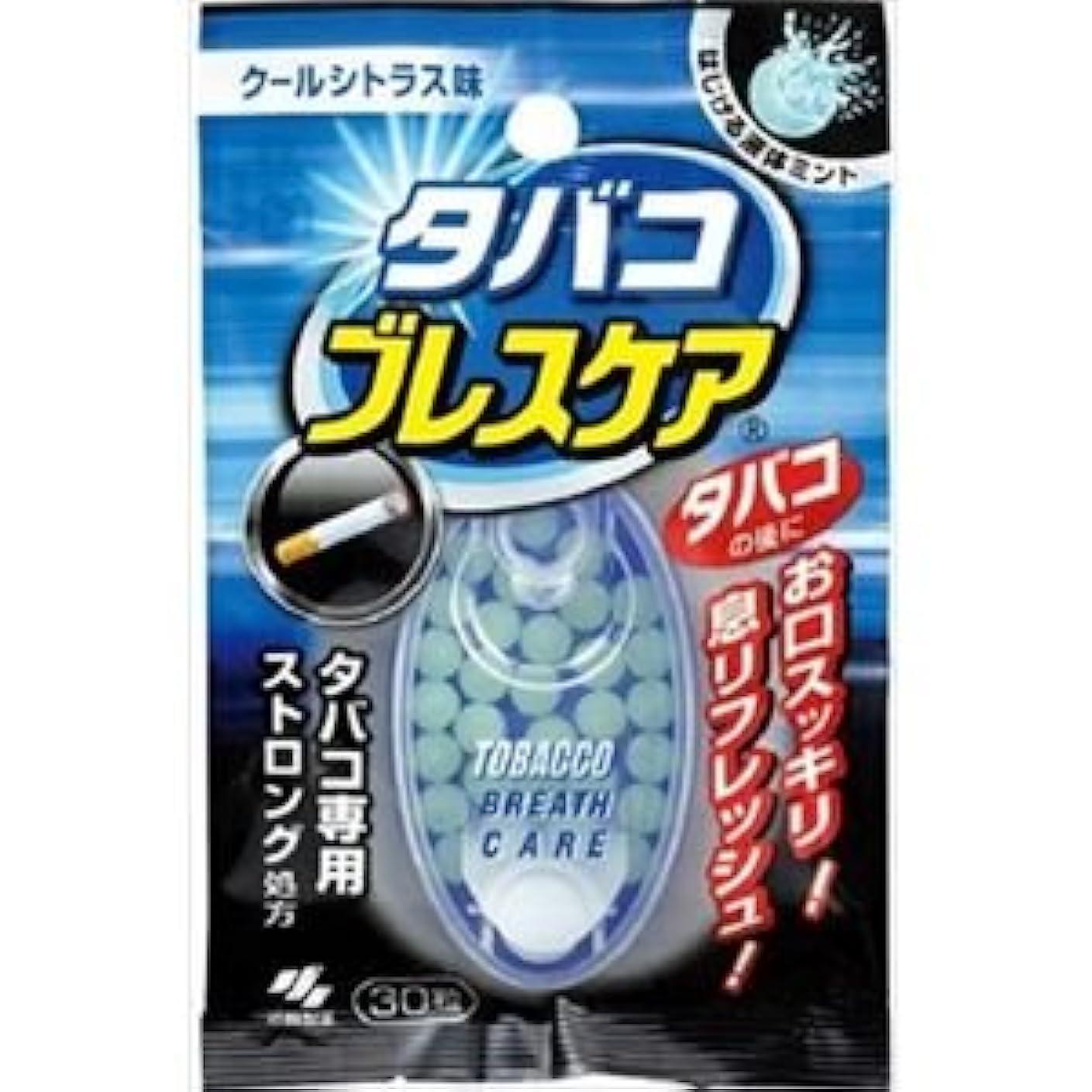 定常投資手(まとめ)小林製薬 タバコブレスケア 30粒 【×6点セット】