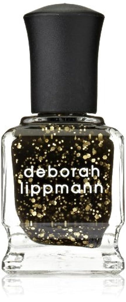 スラダムティーム標準[Deborah Lippmann] デボラリップマン クレオパトラ イン ニューヨーク CLEOPATRA IN NEW YORK ブラックベースにゴールドのグリッターが輝くカラー。 大小のグリッターが混ざり合い、ゴージャス...