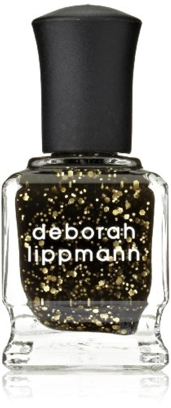 謙虚郡未亡人[Deborah Lippmann] デボラリップマン クレオパトラ イン ニューヨーク CLEOPATRA IN NEW YORK ブラックベースにゴールドのグリッターが輝くカラー。 大小のグリッターが混ざり合い、ゴージャス...