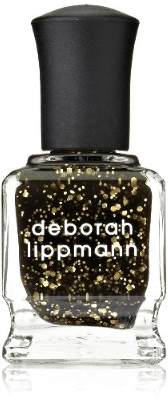 不均一電球エスニック[Deborah Lippmann] デボラリップマン クレオパトラ イン ニューヨーク CLEOPATRA IN NEW YORK ブラックベースにゴールドのグリッターが輝くカラー。 大小のグリッターが混ざり合い、ゴージャス...