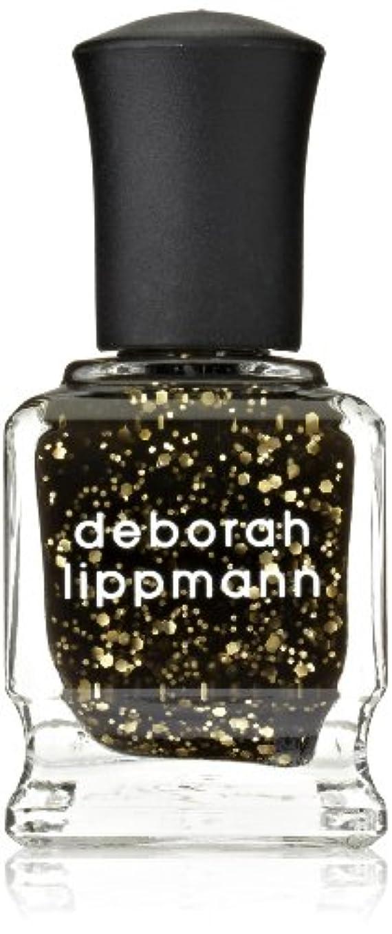 ジャズ不格好トーン[Deborah Lippmann] デボラリップマン クレオパトラ イン ニューヨーク CLEOPATRA IN NEW YORK ブラックベースにゴールドのグリッターが輝くカラー。 大小のグリッターが混ざり合い、ゴージャス...