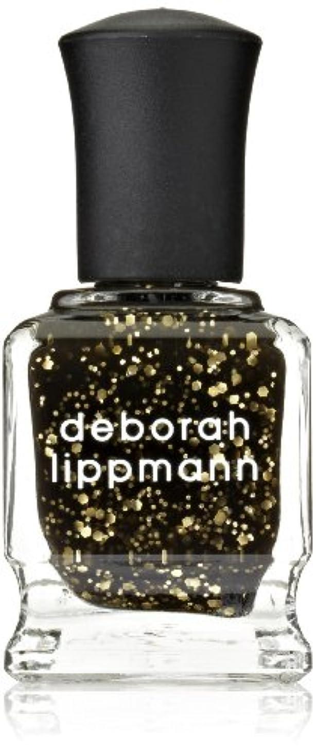 古い変装した思われる[Deborah Lippmann] デボラリップマン クレオパトラ イン ニューヨーク CLEOPATRA IN NEW YORK ブラックベースにゴールドのグリッターが輝くカラー。 大小のグリッターが混ざり合い、ゴージャス...