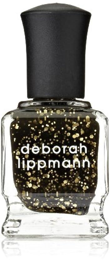 回復レザー提唱する[Deborah Lippmann] デボラリップマン クレオパトラ イン ニューヨーク CLEOPATRA IN NEW YORK ブラックベースにゴールドのグリッターが輝くカラー。 大小のグリッターが混ざり合い、ゴージャス...