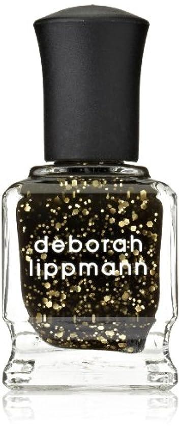 [Deborah Lippmann] デボラリップマン クレオパトラ イン ニューヨーク CLEOPATRA IN NEW YORK ブラックベースにゴールドのグリッターが輝くカラー。 大小のグリッターが混ざり合い、ゴージャス...