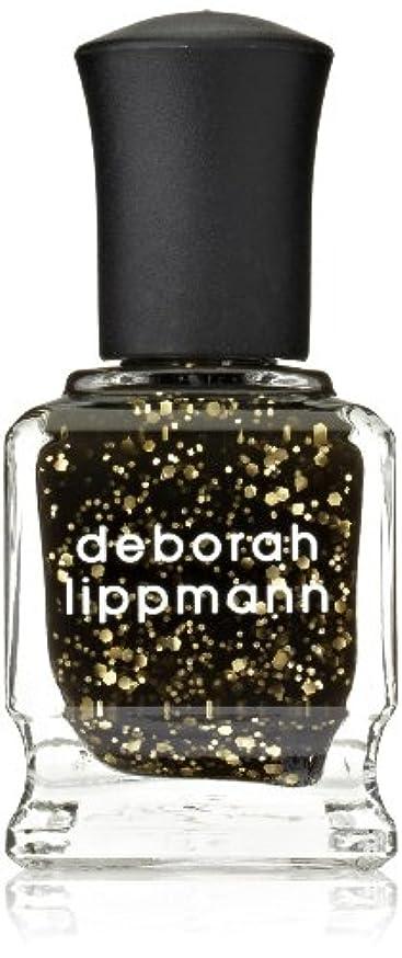 ただ物理的にインスタンス[Deborah Lippmann] デボラリップマン クレオパトラ イン ニューヨーク CLEOPATRA IN NEW YORK ブラックベースにゴールドのグリッターが輝くカラー。 大小のグリッターが混ざり合い、ゴージャス...