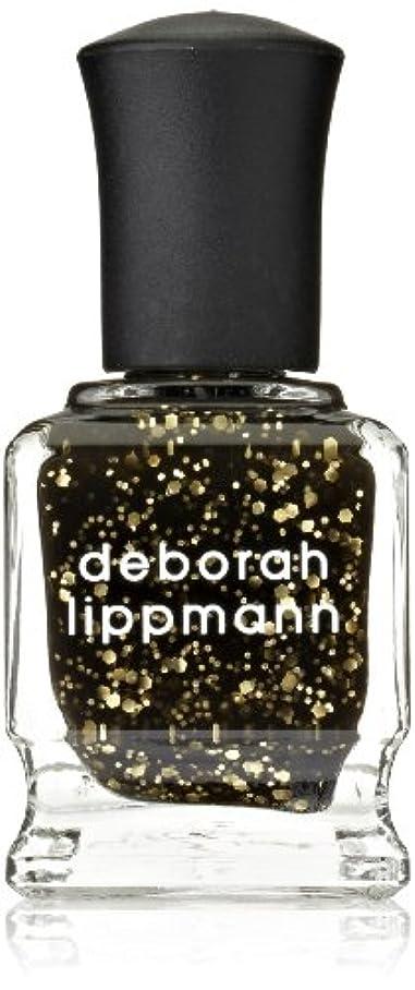 漂流ネット獲物[Deborah Lippmann] デボラリップマン クレオパトラ イン ニューヨーク CLEOPATRA IN NEW YORK ブラックベースにゴールドのグリッターが輝くカラー。 大小のグリッターが混ざり合い、ゴージャス...