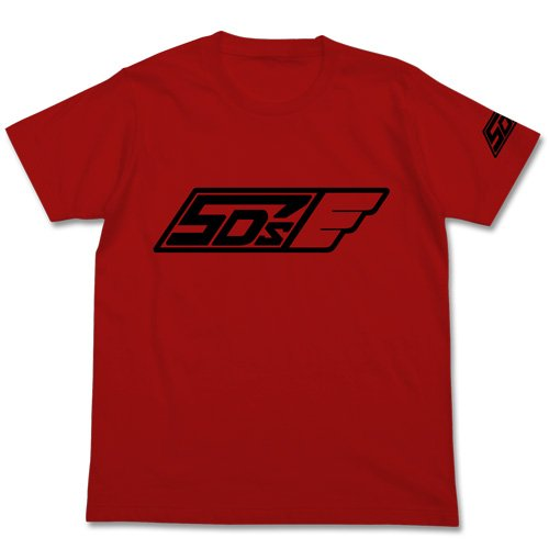 遊☆戯☆王5D's チーム5D's Tシャツ レッド Mサイズ