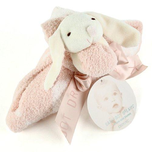 ベアフットドリームス/Barefoot Dreams CozyChic Dream Buddie [ #530 ] ぬいぐるみ付ベビーアニマルブランケット(:、カラー:Bunny/pink [並行輸入品]