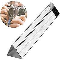 Waltz&F 150mmK9クリスタル ペーパーウェイト 文鎮 三角プリズム 物理学 光の実験 教育 光学ガラス製
