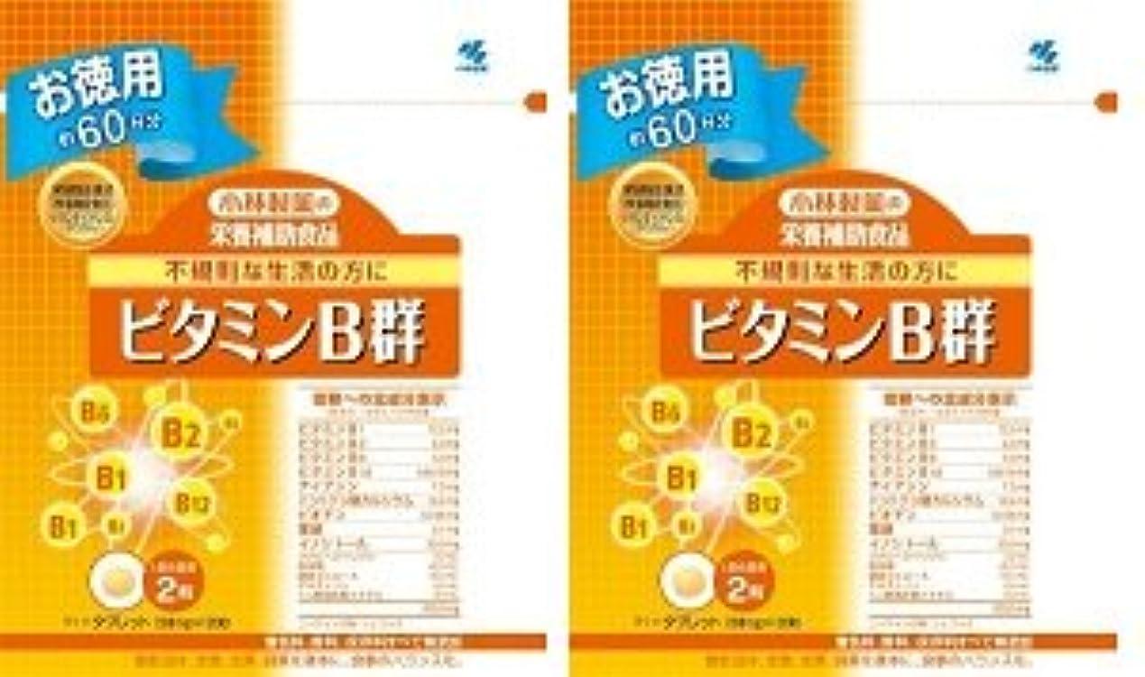 小林製薬 小林製薬の栄養補助食品ビタミンB群120粒×2