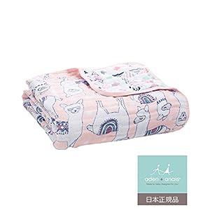 aden + anais (エイデンアンドアネイ) 【日本正規品】 モスリンコットン クラシック ドリームブランケット(トレイルブルーム) dream blanket (trail blooms) 6141