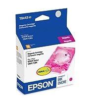 Epson America t044320スタイラスc64C84cx6400マゼンタ