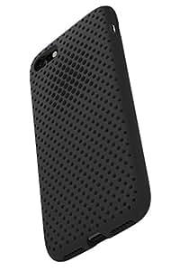 AndMesh iPhone 8 ケース/iPhone 7 ケース, メッシュケース Qi 充電 対応 耐衝撃| ブラック 黒 AMMSC701-BLK