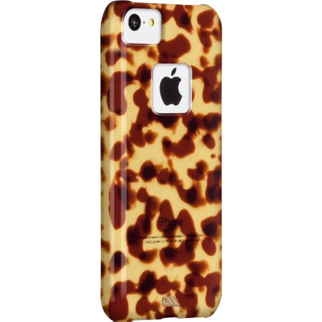 霊動かす電化する【美しい べっ甲調仕上】 Case-Mate 日本正規品 iPhone5c Tortoise shell Case, Brown トータス?シェル ケース CM029379