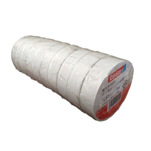 テサテープ 電気絶縁用ビニールテープ (10巻入)