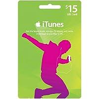 アップル iTunes カード北米版 $15 (iTunes Gift Card US $15) 本体発送版