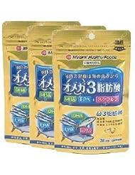 オメガ3脂肪酸 31日分 62球(お取り寄せ品)×3個 4945904017975*3