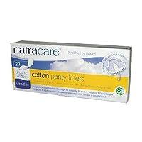 海外直送品Natracare Cotton Panty Liners, Cotton 22 CT (Pack of 2)