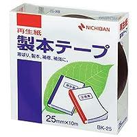 == まとめ == / ニチバン/製本テープ - 再生紙 - / 25mm×10m / 黒/BK-256 / 1巻 / - ×10セット -