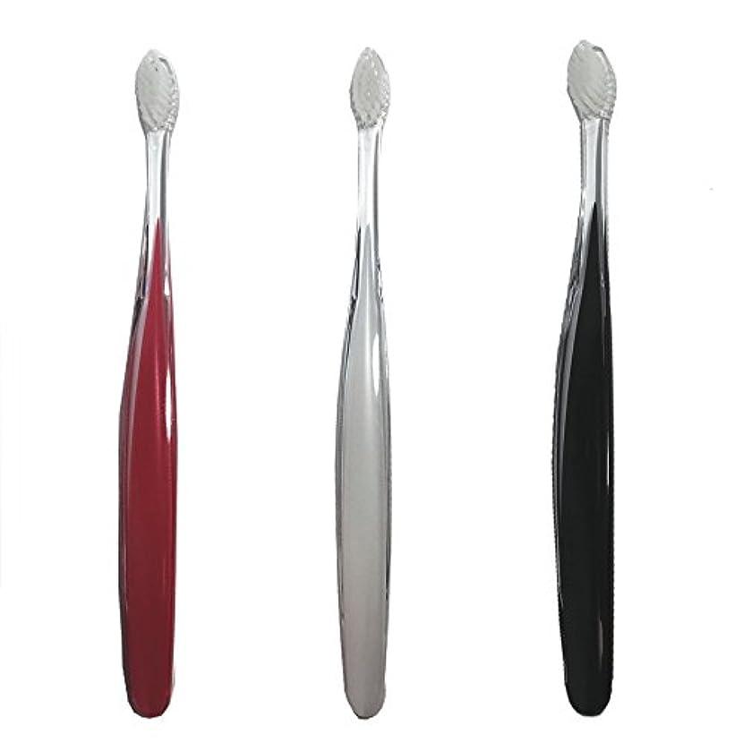五十強度ケーブルサムライ(SAMRAI)歯ブラシ ふつう 3色セット