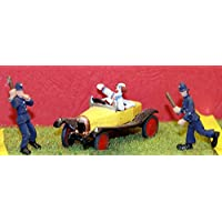LangleyモデルCircus Clowns + Comedy Car Set OOスケール未塗装モデルキットcir6